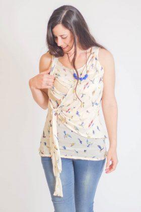 חולצת הנקה – אמה ציפורים