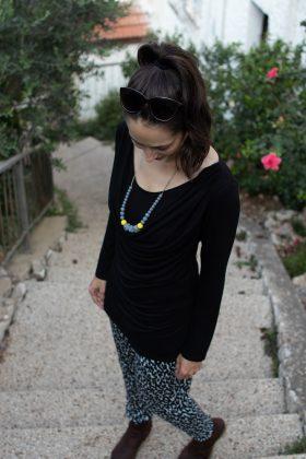 חולצת הנקה – שירה שחור