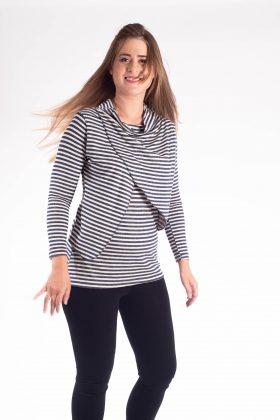 חולצת הנקה – גילת סריג פסים