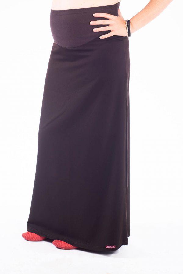 חצאית הריון מקסי אלגנטית