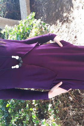 Maternity Dress – Efrat – Purple