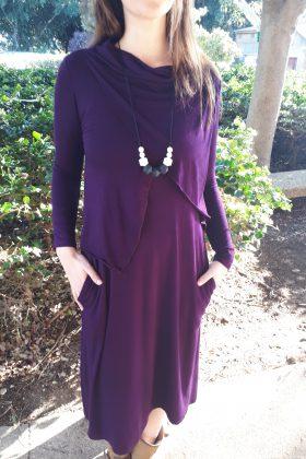 שמלת הנקה – אפרת סגול