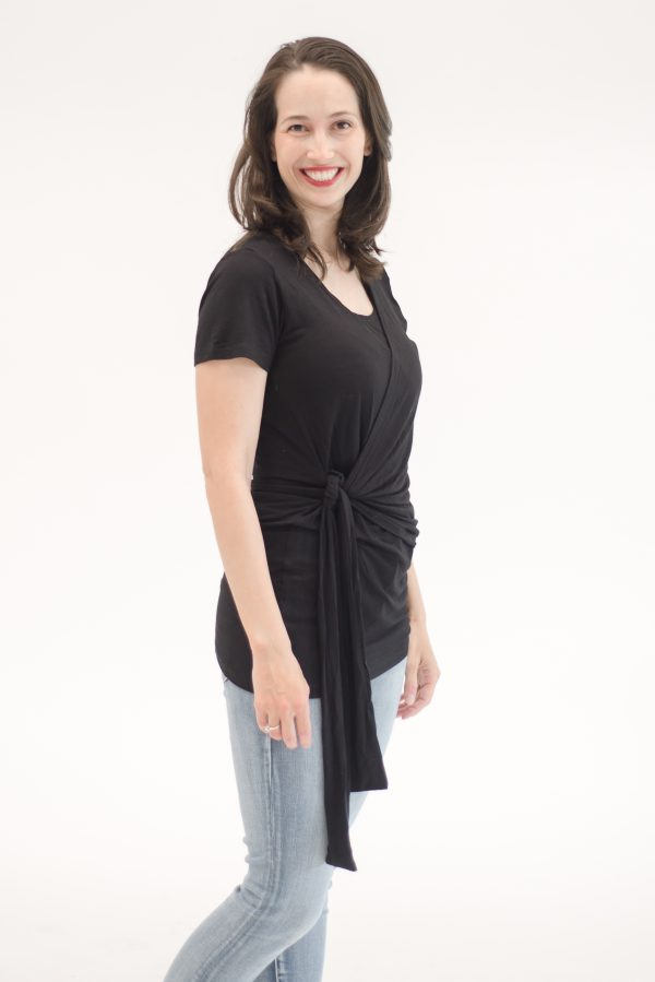 Maternity Blouse - Anat - Black