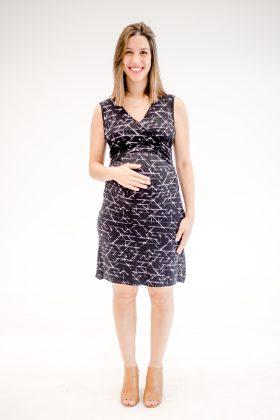 שמלת הריון – איה הדפס