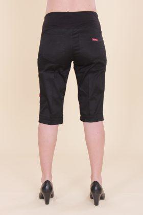 מכנס הריון אורך ברך שחור
