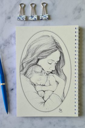 מחברת של אמא