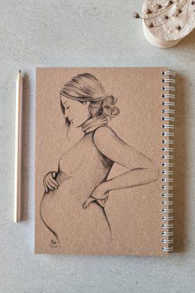 מחברת ההריון שלי