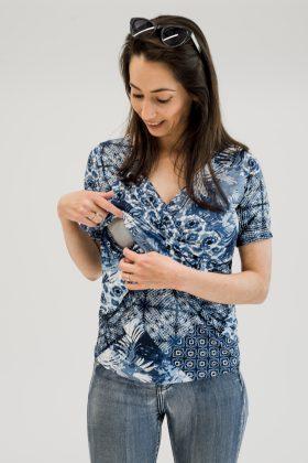 חולצת הנקה – דנה כחול