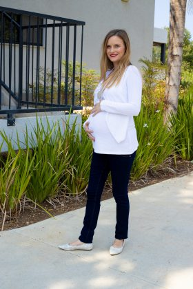 חולצת הריון – גילת לבן פיקה