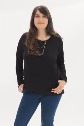 חולצת דריה שחור
